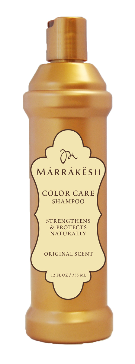 Marrakesh Шампунь для окрашенных волос Color Original, 355 млFS-00897Бережно очищает волосы, не вымывая пигменты и сохраняя цвет. Восстанавливает поврежденную структуру окрашенного волоса.