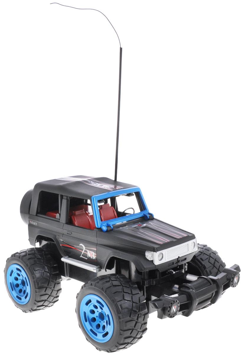 """Машина на радиоуправлении Nikko """"Mystery Black 2"""" обязательно привлечет внимание взрослого и ребенка и понравится любому, кто увлекается автомобилями. Она способна развивать скорость до 7,5 км/ч. Модель может ездить по асфальту, земле, песку, воде, успешно преодолевая кочки, ветки, трамплины и другие препятствия. Игрушка оснащена ударопрочным корпусом и бампером. Маневренная и оригинальная модель гоночной машины """"Mystery Black 2"""" выполнена в масштабе 1:18. Управление машинкой происходит с помощью удобного пульта. Автомобиль двигается вперед и назад, поворачивает направо и налево. Изготовлена машина из пластика с металлическими элементами. Колеса игрушки прорезинены и обеспечивают плавный ход, машинка не портит напольное покрытие. Радиоуправляемые игрушки способствуют развитию координации движений, моторики и ловкости. Ваш ребенок часами будет играть с моделью, придумывая различные истории и устраивая соревнования. Порадуйте его таким замечательным..."""