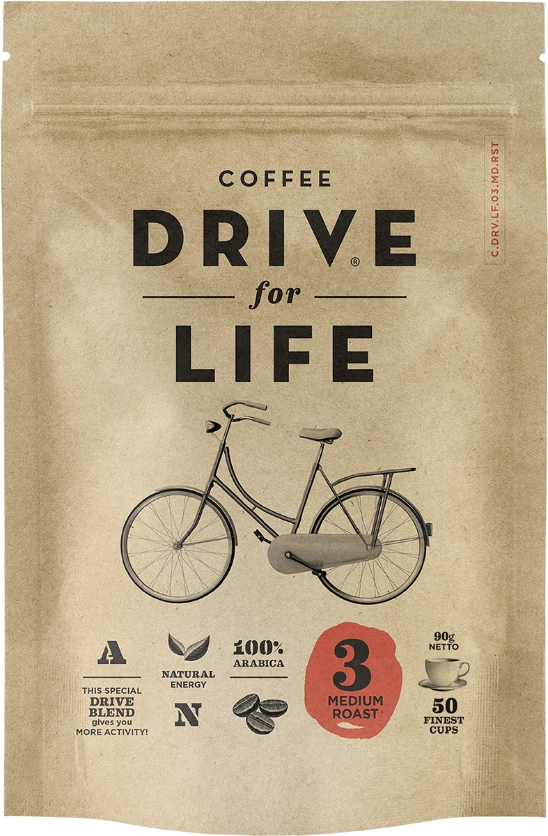 Drive for Life Medium кофе сублимированный, 90 г0120710Кофе натуральный растворимый сублимированный Drive for Life Medium - специально подобранные сорта Бразильской и Колумбийской Арабики, при обжарки которых вырабатывается натуральный кофеин высокого качества. Улучшает внимание, память и обеспечивает энергией на длительное время. Сбалансированная крепость и мягкое послевкусие.