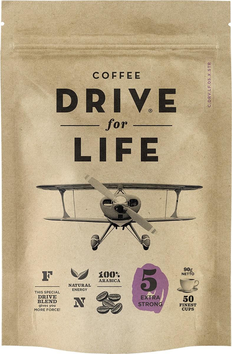 Drive for Life Extra Strong кофе сублимированный, 90 г101246Кофе натуральный растворимый сублимированный Special Blend Drive - специально подобранные сорта Бразильской и Колумбийской Арабики, при обжарки которых вырабатывается натуральный кофеин высокого качества. Улучшает внимание, память и обеспечивает энергией на длительное время.