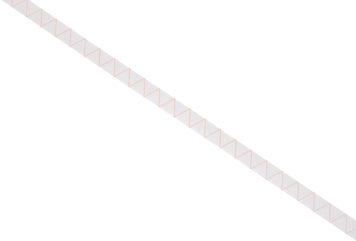 Лента эластичная Prym, стандартная, цвет: белый, ширина 1,2 см, длина 25 мNLED-454-9W-BKСтандартная лента Prym - это плетеная эластичная лента с фирменным золотистым зигзагом, которая при растяжении сужается, а резиновые нити здесь расположены равномерно. Выполнена из полиэстера (70%) и эластомера (30%). Длина: 25 м.Ширина: 1,2 см.