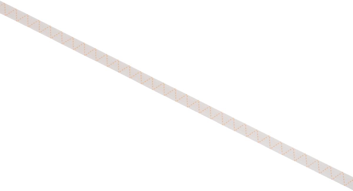 Лента эластичная Prym, стандартная, цвет: белый, ширина 1 см, длина 25 м19201Стандартная лента Prym - это плетеная эластичная лента с фирменным золотистым зигзагом, которая при растяжении сужается, а резиновые нити здесь расположены равномерно. Выполнена из полиэстера (72%) и эластомера (28%). Длина: 25 м.Ширина: 1 см.