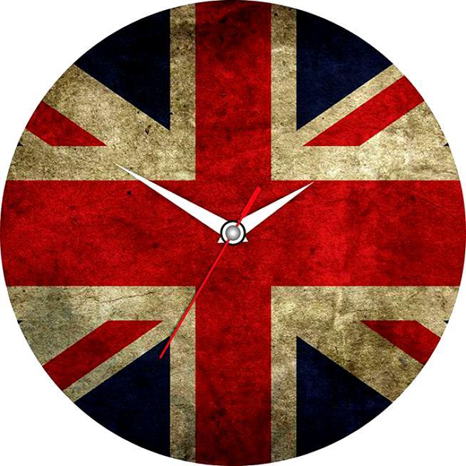 Часы настенные Эврика Английский флаг, диаметр 28 см2706 (ПО)Оригинальные настенные часы Английский флаг круглой формы выполнены из стекла и оформлены изображением английского флага. Часы имеют три стрелки - часовую, минутную и секундную. Циферблат часов не защищен. Необычное дизайнерское решение и качество исполнения придутся по вкусу каждому. Оформите свой дом таким интерьерным аксессуаром или преподнесите его в качестве презента друзьям, и они оценят ваш оригинальный вкус и неординарность подарка.Диаметр часов: 28 см.Работают от батарейки типа АА (в комплект не входит).