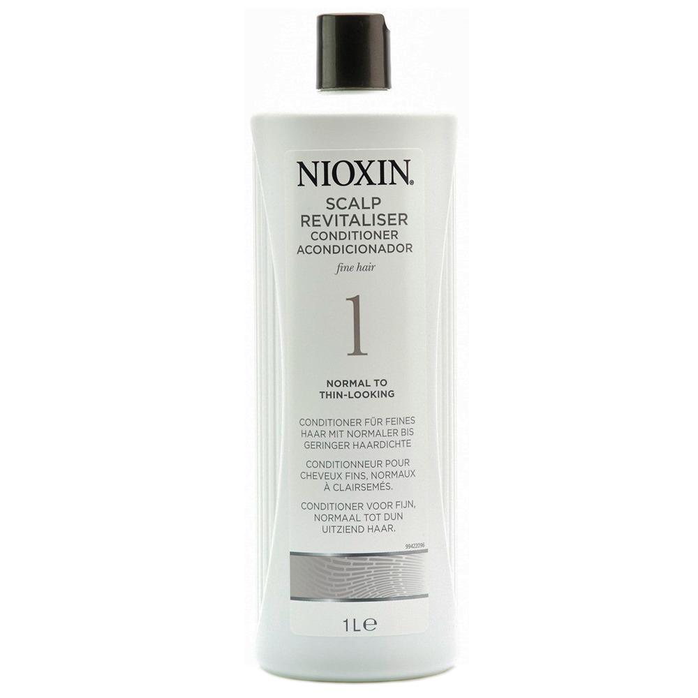 Nioxin Scalp Увлажняющий кондиционер (Система 1) Revitaliser System 1, 1000 мл7208812000Увлажняющий кондиционер Nioxin Система 1 предназначен для ослабленных и тонких волос. Средство содержит питательные масла и энзимы, которые бережно ухаживают за волосами и кожей головы. Кондиционер от Ниоксин придает волосам шелковистость и смягчает кожу головы.