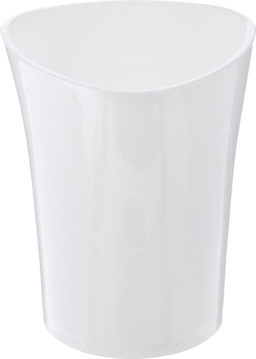 Стакан для ванной комнаты Vanstore Wiki White, цвет: белый, высота 10 см810389Стакан для ванной комнаты Vanstore Wiki White изготовлен из высококачественного пластика. В изделии удобно хранить зубные щетки, пасту и другие принадлежности. Такой аксессуар для ванной комнаты стильно украсит интерьер и добавит в обычную обстановку яркие и модные акценты.Размер стакана: 8 х 8 х 10 см.