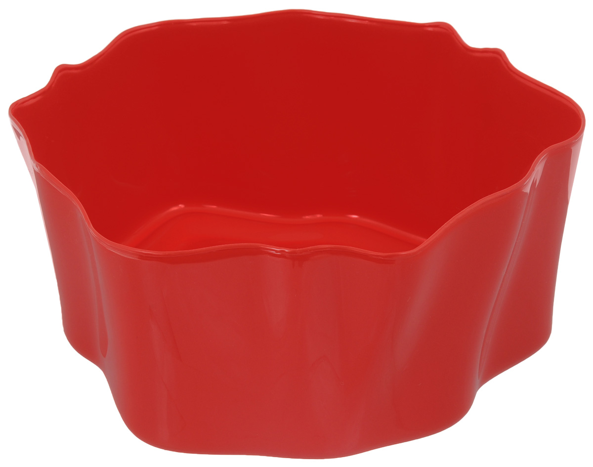Органайзер Qualy Flow, цвет: красный, 25,5 х 25,5 х 11,5 смCLP446Органайзер Qualy Flow может пригодиться на кухне, в ванной, в гостиной, на даче, на природе, в городе, в деревне. В него можно складывать фрукты, овощи, хлеб, кухонные приборы и аксессуары, всевозможные баночки, можно использовать органайзер как мусорную корзину, вазу. Все зависит от вашей фантазии и от хозяйственных потребностей! Пластиковый оригинальный органайзер пригодится везде!
