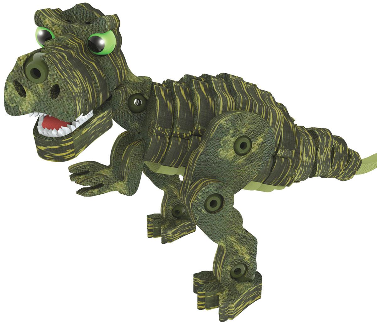 Bebelot 3D мягкий конструктор Динозавры 12 в 1 бластер bebelot bm 16 beb1106 050