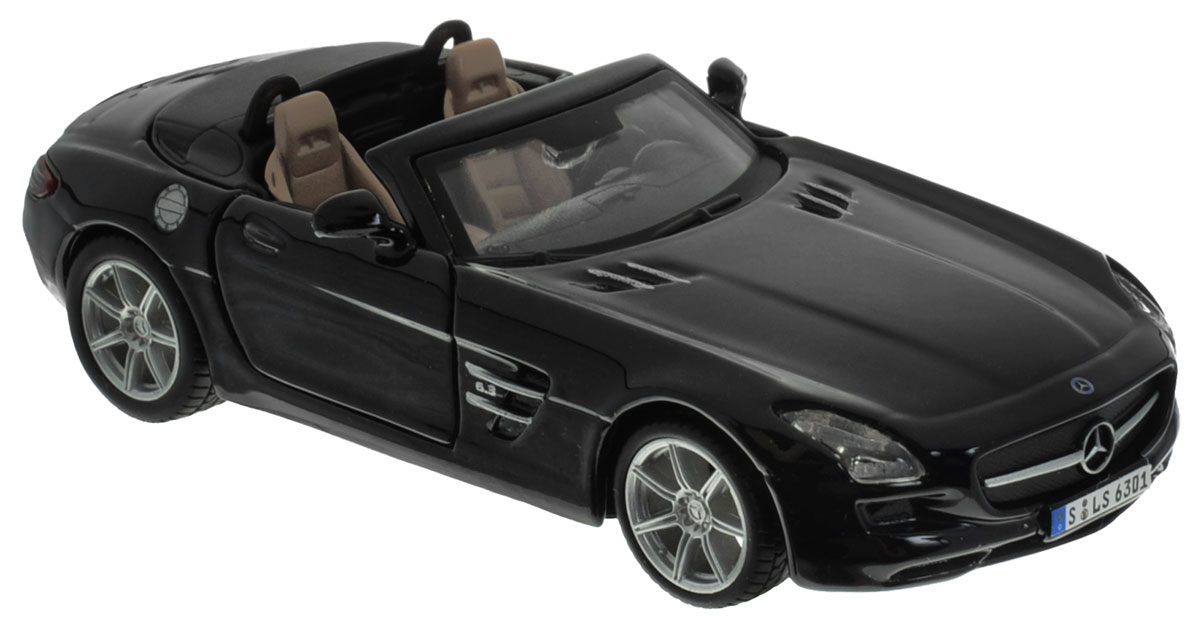 Bburago Модель автомобиля Mercedes-Benz SLS AMG Roadster пылесос karcher ds 5800