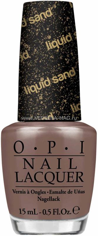 OPI Лак для ногтей Liquid Sand-San Andreas, 15 млB2805504Лак для ногтей OPI быстросохнущий, содержит натуральный шелк и аминокислоты. Увлажняет и ухаживает за ногтями. Форма флакона, колпачка и кисти специально разработаны для удобного использования и запатентованы.