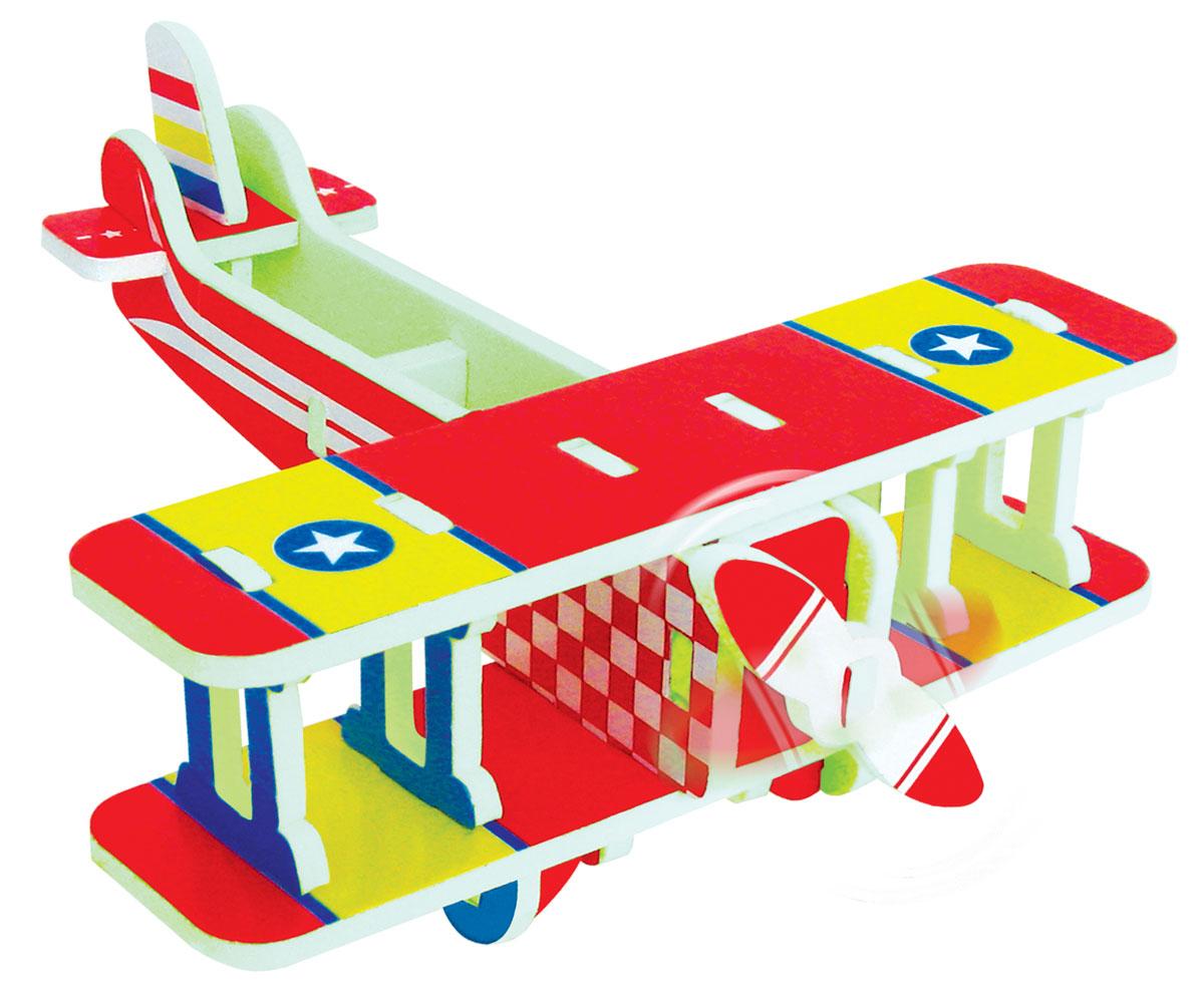 Bebelot 3D мягкий конструктор Биплан конструктор wooden city биплан 63 дет wr304