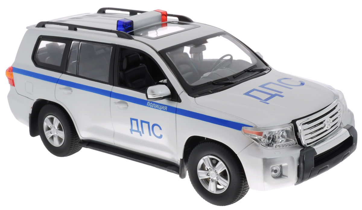 Rastar Радиоуправляемая модель Toyota Land Cruiser ДПС