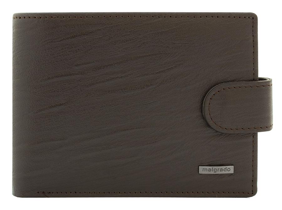 Портмоне мужское Malgrado, цвет: коричневый. 32001-9-52601BM8434-58AEПортмоне Malgrado выполнено из высококачественной натуральной кожи, оформлено металлической фурнитурой с символикой бренда.Портмоне раскладывается, закрывается клапаном на кнопку. Внутри изделия расположены: два отделения для купюр, два потайных кармашка, шесть карманов для кредитных карт.Портмоне упаковано в коробку из плотного картона с логотипом фирмы.Это элегантное портмоне непременно подойдет к вашему образу и порадует простотой, стилем и функциональностью.