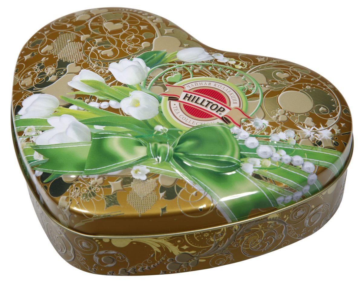 Hilltop Белые тюльпаны Королевское золото черный листовой чай, 100 г4607099302167Hilltop Белые тюльпаны Королевское золото - черный чай стандарта Супер Пеко с лучших плантаций Цейлона. Выращен в экологически чистой зоне. Настой с глубоким золотистым цветом.