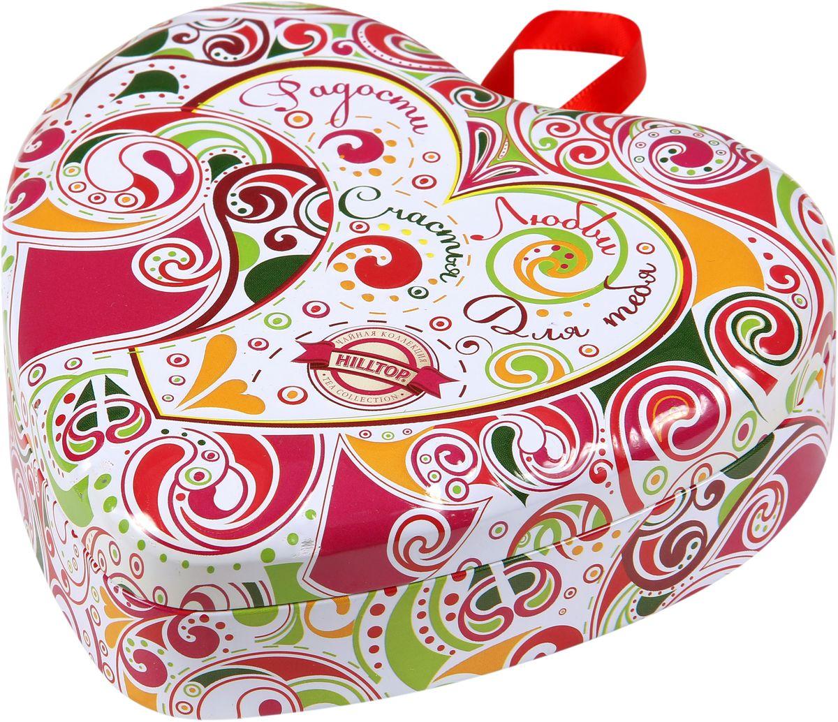 Hilltop Пожелания Цейлонское утро черный листовой чай, 50 г0120710Hilltop Пожелания Цейлонское утро чай с бархатным вкусом и легким ароматом. Ароматизирован натуральными маслами.