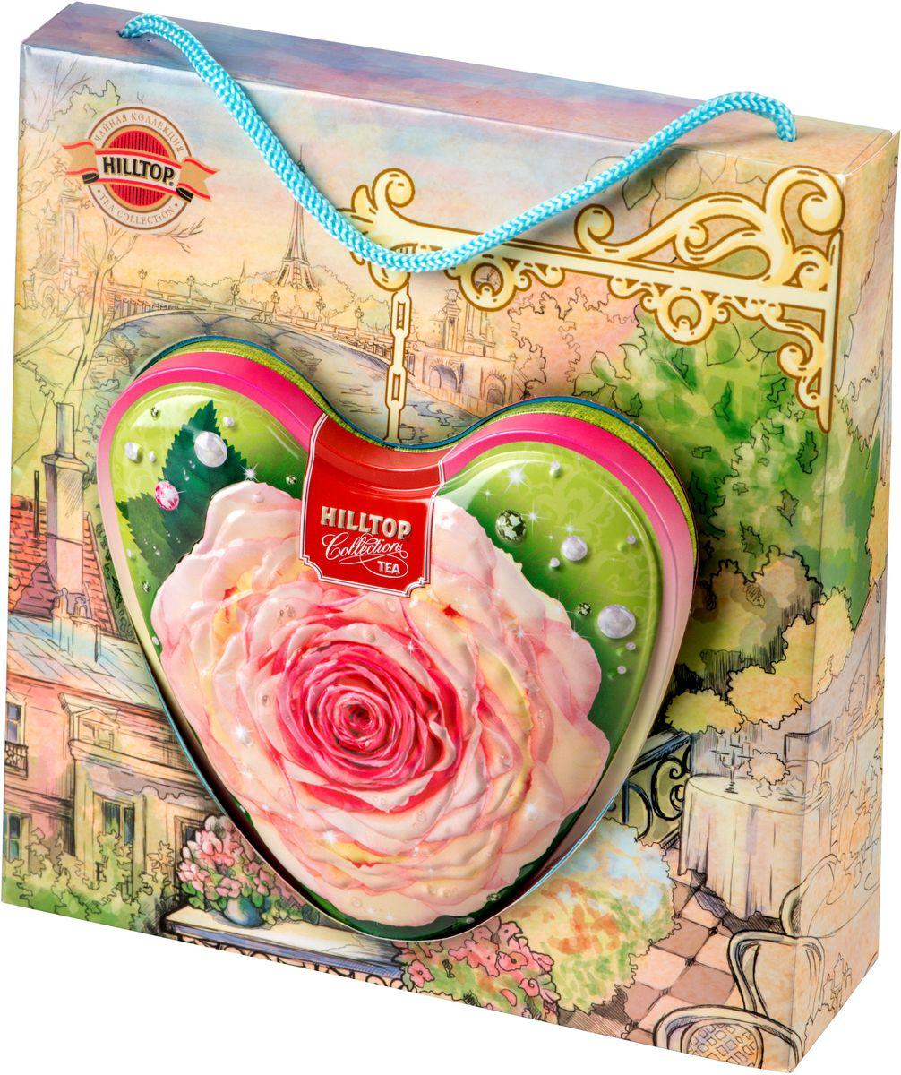 Hilltop Чайная роза листовой чай оолонг, 80 г101246Hilltop Чайная роза - знаменитый китайский полуферментированный чай оолонг с нежным ароматом свежих сливок.