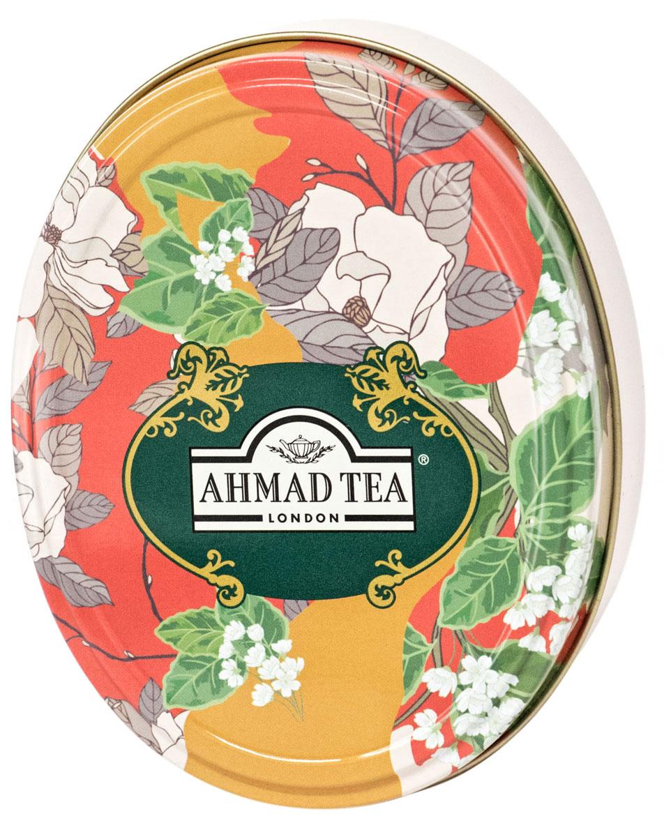 Ahmad Tea Английская Традиция черный листовой чай, 40 г (ж/б)0120710Дуэт вкусов ассамского и цейлонского чая Ahmad Tea Английская Традиция таит загадку, разгадывать которую можно бесконечно, как и любоваться завораживающим терракотовым оттенком этого напитка. Чай не терпит суеты, как истинный последователь английской традиции, он несет расслабление и сосредоточение, сохраняя внутреннюю силу вкуса до последнего глотка.