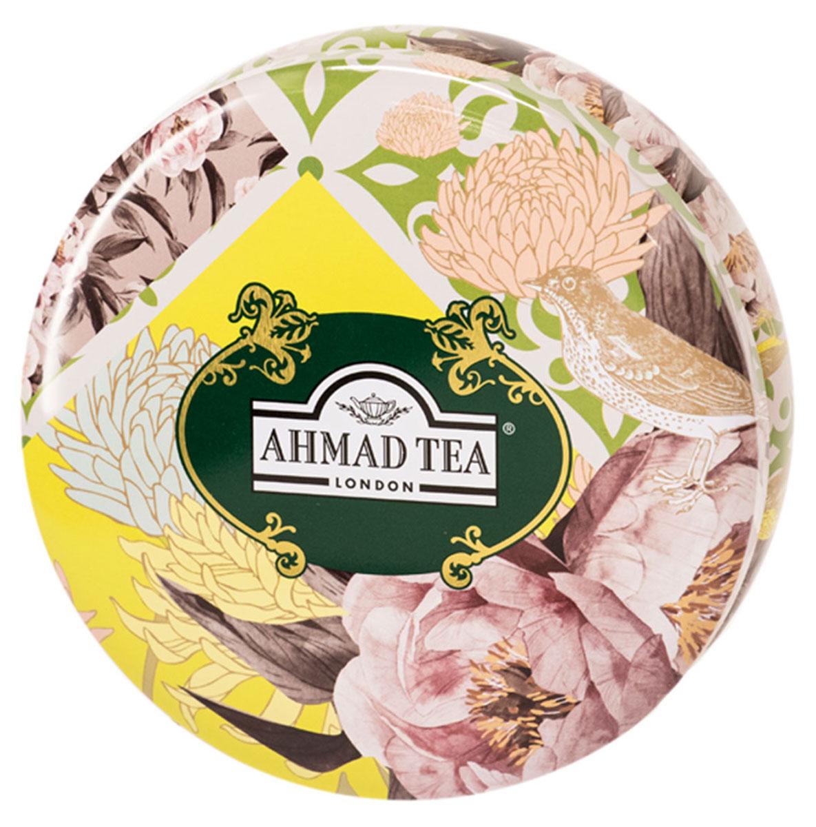 Ahmad Tea Весенняя Мята зеленый листовой чай с мятой, мелиссой и лимонным сорго, 100 г (ж/б)101246Ahmad Tea Весенняя Мята представляет собой купаж деликатного китайского зеленого чая и мелиссы с утонченным послевкусием цитрусовых. Мятный вкус сопровождает свежая нота лимонника.