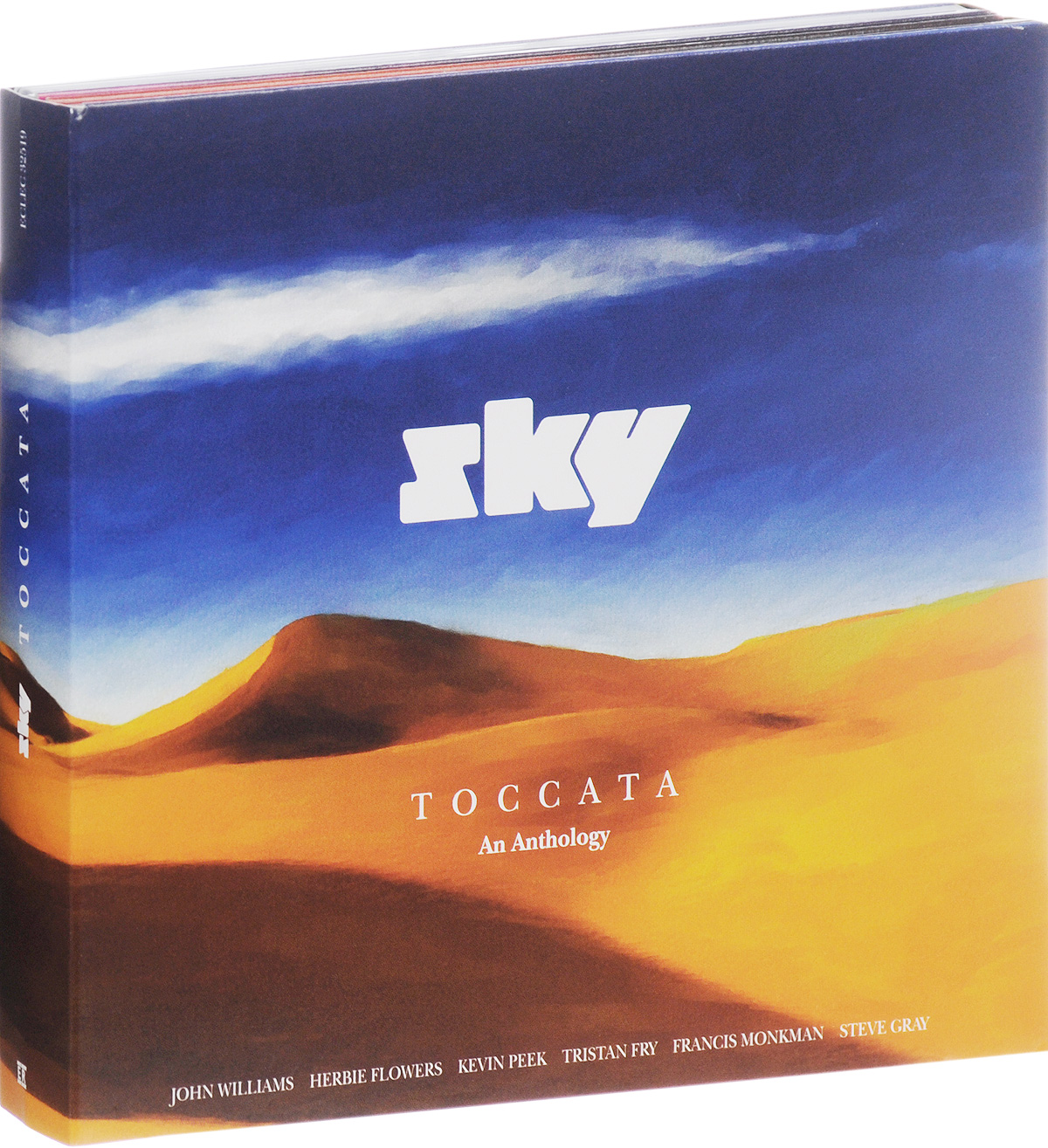 Sky Sky. Toccata. Limited Edition (2 CD + DVD) deep purple deep purple stormbringer 35th anniversary edition cd dvd
