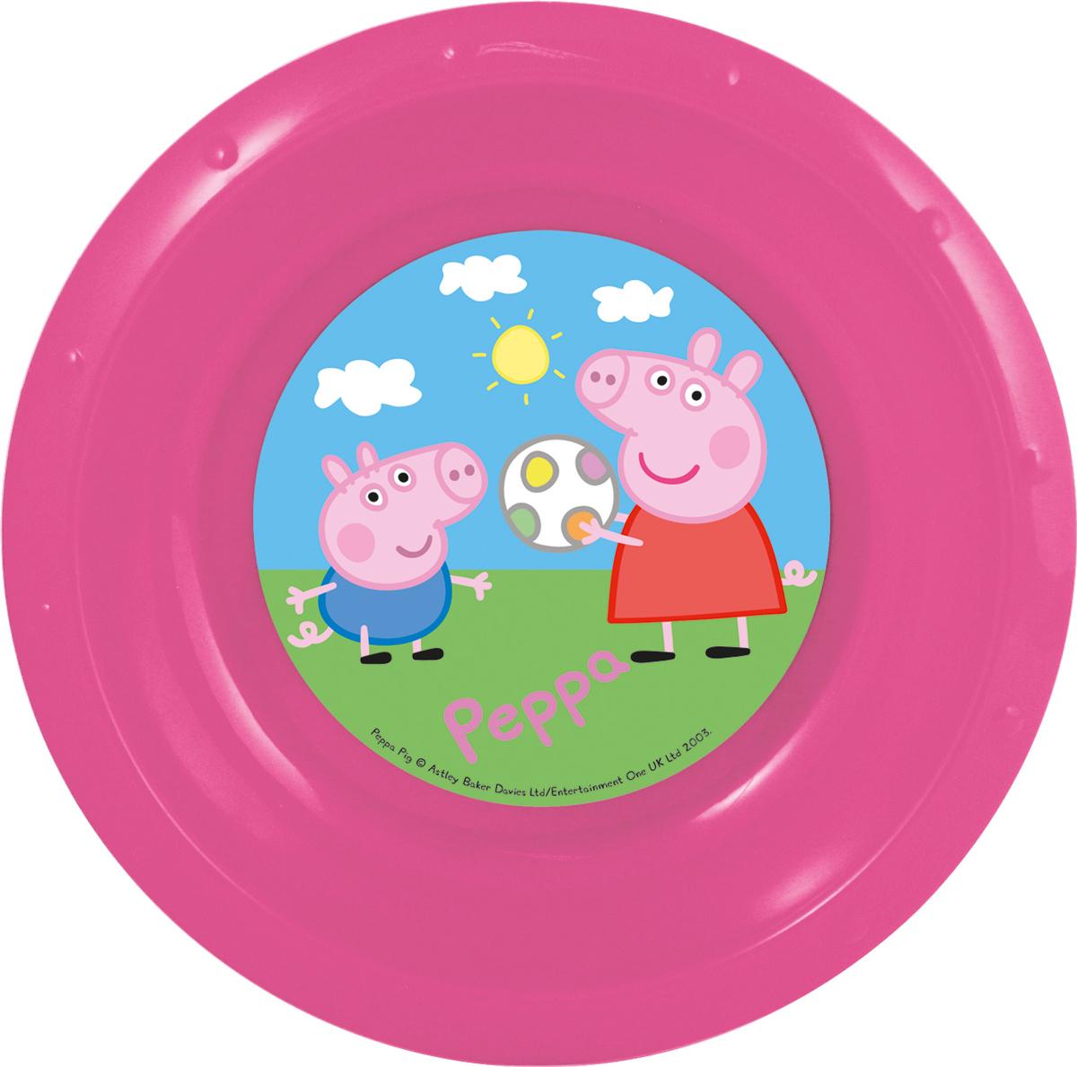 Peppa Pig Миска детская Свинка ПеппаJ2036Миска детская Свинка Пеппа диаметром 16 см.