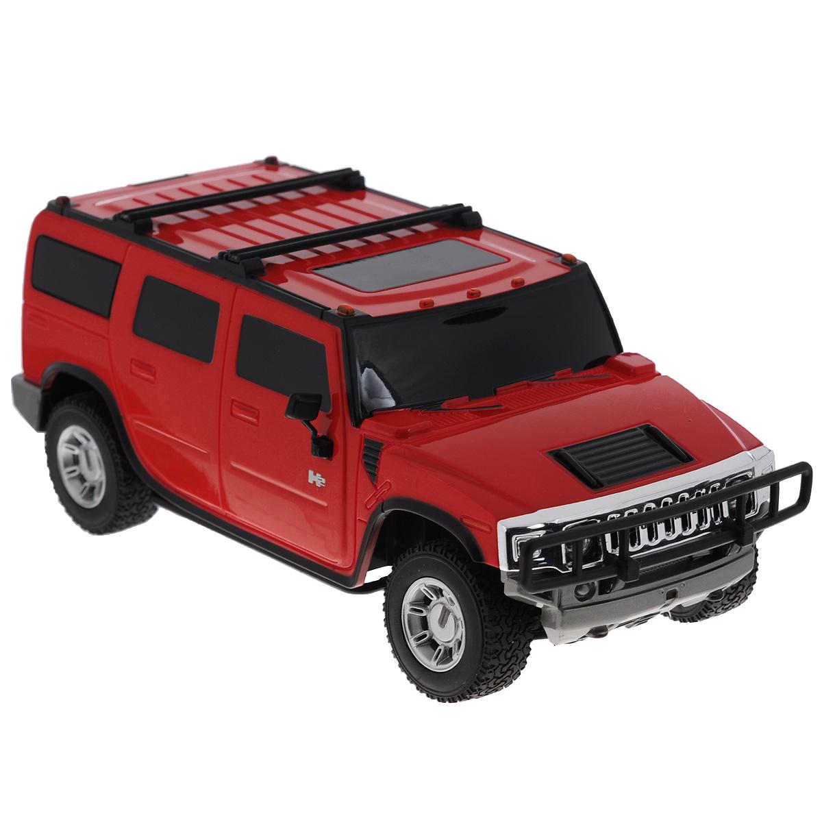 Rastar Радиоуправляемая модель Hummer H2 цвет красный масштаб 1:27