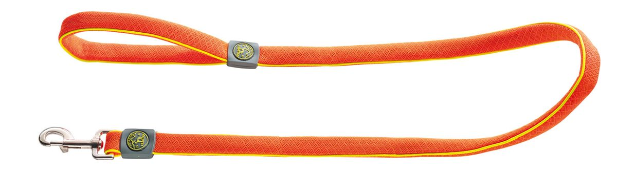 Поводок для собак Hunter Maui 25 / 120 сетчатый текстиль оранжевыйшччHunter Поводок для собак Maui 25/120 сетчатый текстиль оранжевый Поводок выполнен из невероятно мягкого и легкого текстильного материала. Длина 120 см, ширина 2,5 см.