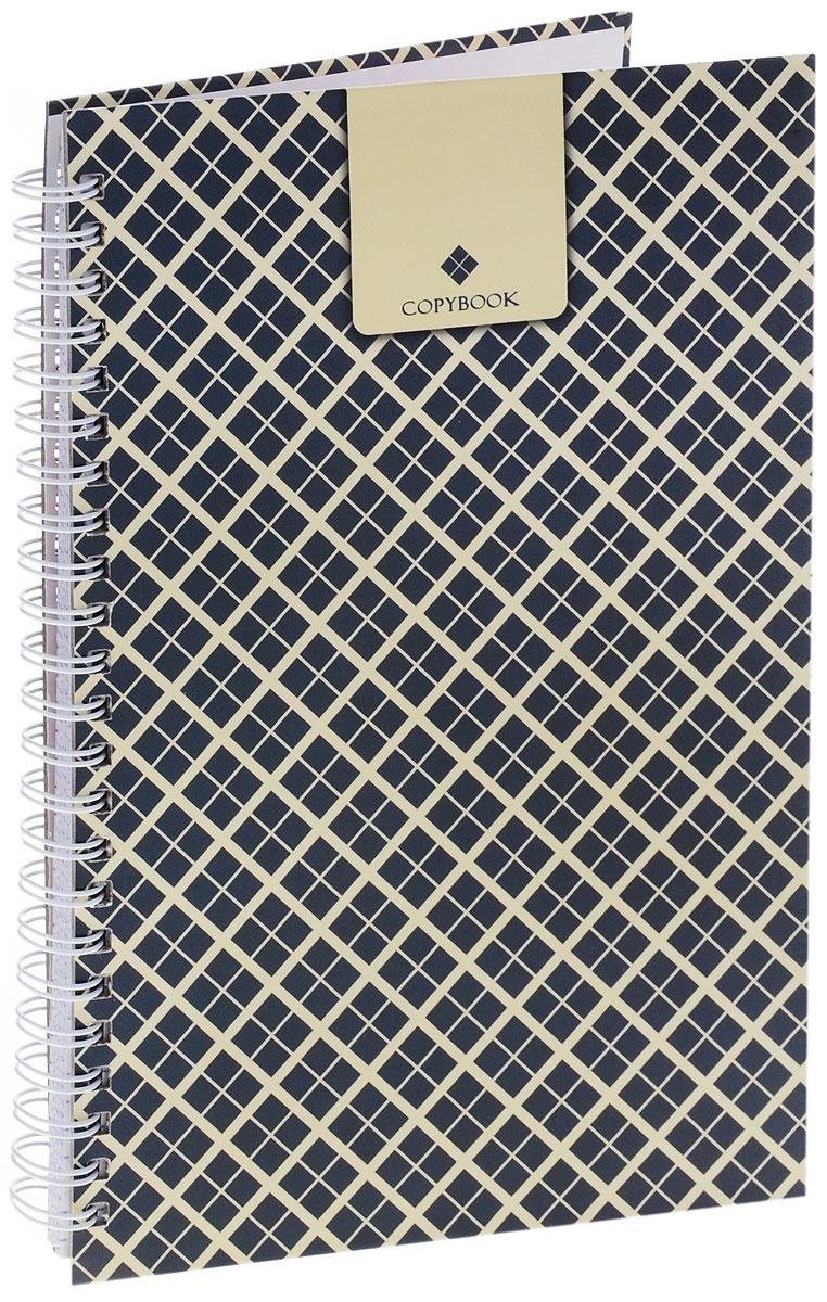 Тетрадь Listoff Copybook подойдет как школьнику, так и студенту. Обложка тетради выполнена из прочного картона и оформлена принтом. Внутренний блок тетради на гребне состоит из 100 листов белой бумаги с линовкой в клетку синего цвета без полей.