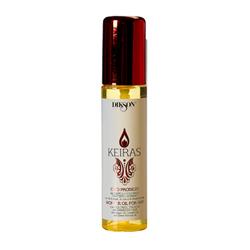 Dikson Уникальный комплекс с маслами арганы, льна и сладкого миндаля Keiras Olio Prodigio 60 млMP59.4DУникальный питательный комплекс, смесь благородных масел. Моментально впитывается в волосы, обеспечивая глубокое увлажнение, шелковистость и изумительный блеск. Масло Арганы способствует восстановлению структуры волоса, обладает антистатическим эффектом. Льняное масло придает волосам эластичность и здоровый блеск. Масло сладкого Миндаля cтимулирует рост волос.Великолепный anti-age продукт. Обеспечивает надежную UV-защиту.