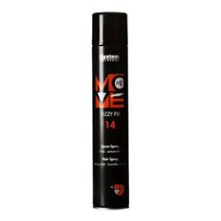 Dikson Move Лак-спрей сильной фиксации Me 14 Fizzy Fix 500 млjf212430Лак для волос сильной фиксации с ультра легкими компонентами. Идеален для конечной фиксации, не матирует естественный блеск и цвет волос. Легко удаляется при расчесывании.Степень фиксации: 4