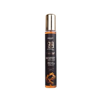 Dikson ArgaBeta Суперлегкое увлажняющее масло-спрей Beauty Oilo Light 100 млFS-00897Dikson ArgaBeta Beauty Oilo Light – Супер легкое увлажняющее масло-спрей от известного бренда Диксон быстро увлажняет и преображает даже самые уставшие и сухие волосы. Это стало возможным благодаря мощному антиоксидантному эффекту арганового масла и гидратирующим свойствам бета-каротина. При регулярном использовании спрея Вы забудете о том, что такое секущиеся кончики и поврежденные волосы, потому что он образует тончайшую пленку, которая, несмотря на свою толщину, способна стать барьерным экраном от УФ-лучей и выцветания пигмента. Средство нормализует водный баланс, делает волосы блестящими и послушными. Его активная формула делает заметным эффект увлажнения уже после первого использования. Практичный флакон облегчает нанесение волос, а легкая текстура способствует впитываемости.