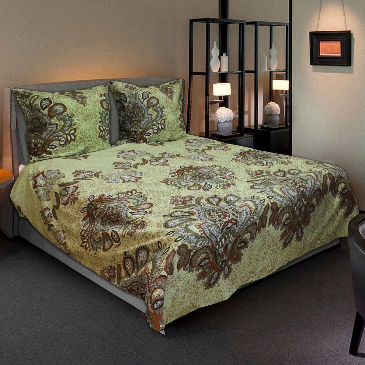 Комплект белья Amore Mio Decor, 2-спальный, наволочки 70х70FD 992Комплект постельного белья Amore Mio является экологически безопасным для всей семьи, так как выполнен из бязи (100% хлопок). Постельное белье оформлено оригинальным рисунком и имеет изысканный внешний вид.Легкая, плотная, мягкая ткань отлично стирается, гладится, быстро сохнет. Комплект состоит из пододеяльника, простыни и двух наволочек.