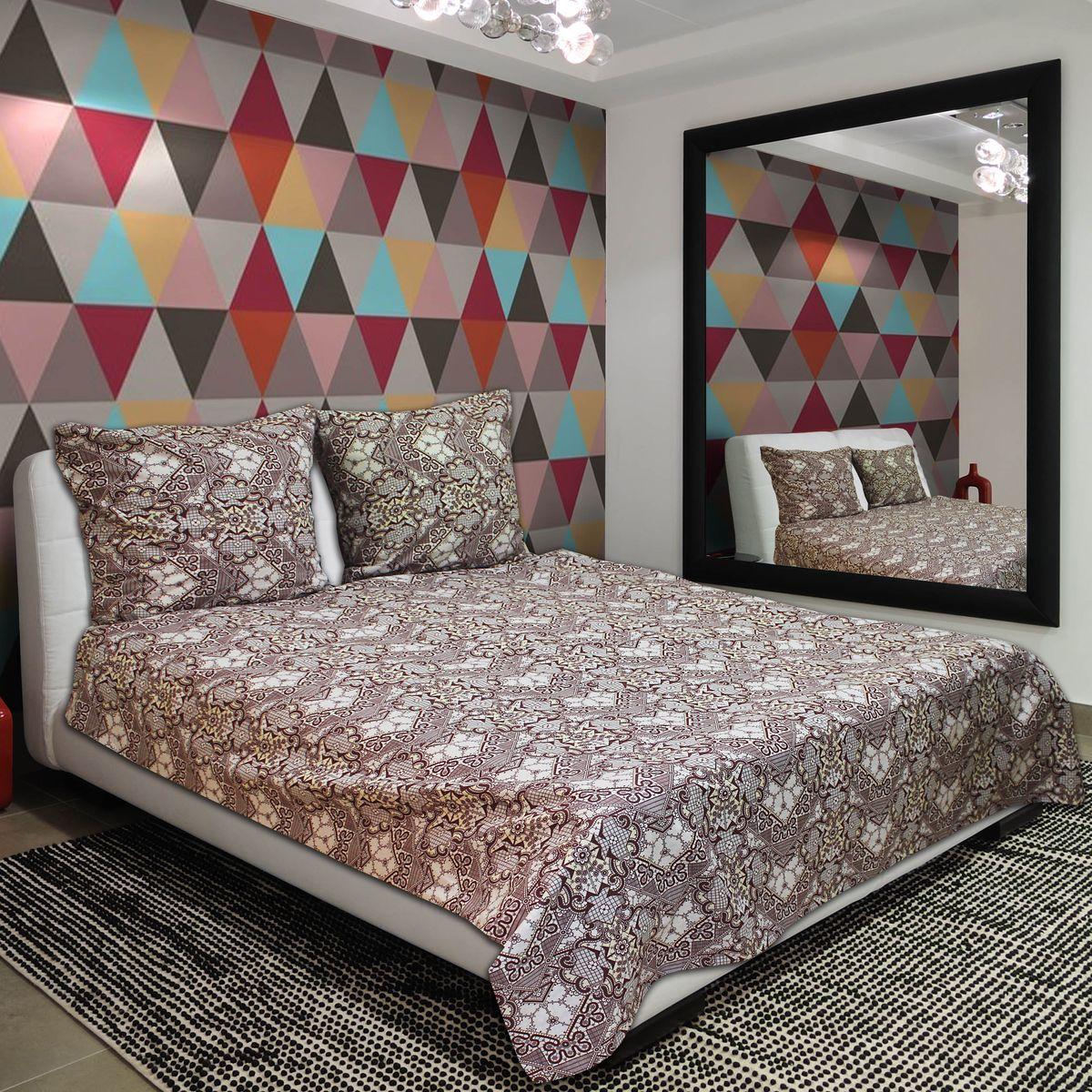 Комплект белья Amore Mio Warm, 2-спальный, наволочки 70х70391602Комплект постельного белья Amore Mio является экологически безопасным для всей семьи, так как выполнен из бязи (100% хлопок). Постельное белье оформлено оригинальным рисунком и имеет изысканный внешний вид.Легкая, плотная, мягкая ткань отлично стирается, гладится, быстро сохнет. Комплект состоит из пододеяльника, простыни и двух наволочек.