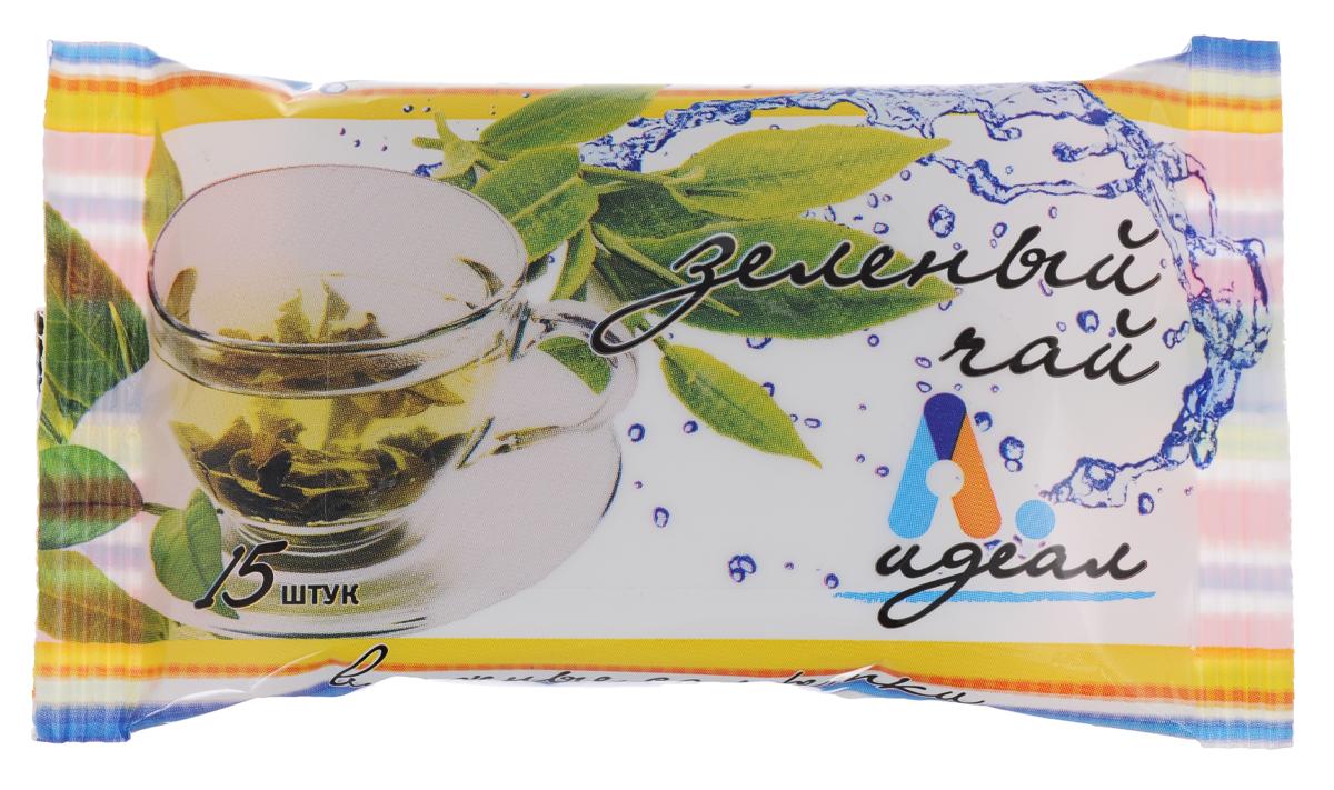 Салфетки влажные Идеал Зеленый чай, гигиенические, 15 штMP59.4DВлажные салфетки Идеал Зеленый чай изготовлены из нетканого материала и пропитывающего лосьона. Они предназначены для очищения кожи рук и тела. Экстракт зеленого чая обладает антисептическим и увлажняющим действием, эффективно успокаивает и смягчает кожу.Салфетки Идеал Зеленый чай подходят для всех типов кожи.Состав: нетканое волокно; пропитывающий лосьон: деминерализованная вода, ПЭГ-40 гидрогенизированное касторовое масло, глицерин, цетилтриметиламмоний хлорид, ундециленамидопропилтримониум метосульфат, трилон Б, аллантион, Д-пантенол, экстракт зеленого чая, метилхлоризотиазолинон, метилизотиазолинон, отдушка. Товар сертифицирован.