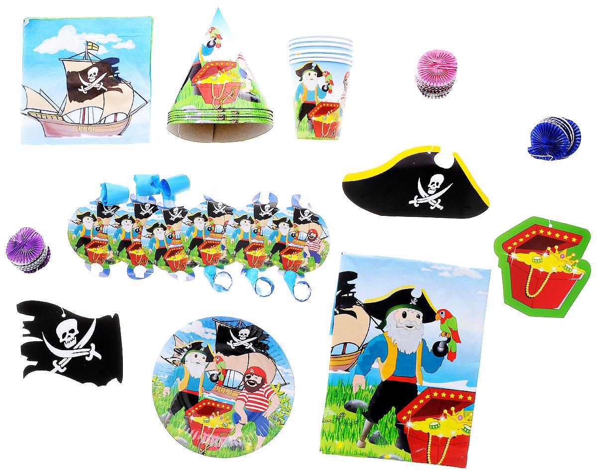 Action! Набор для праздника Пираты 34 предмета - Сервировка праздничного стола