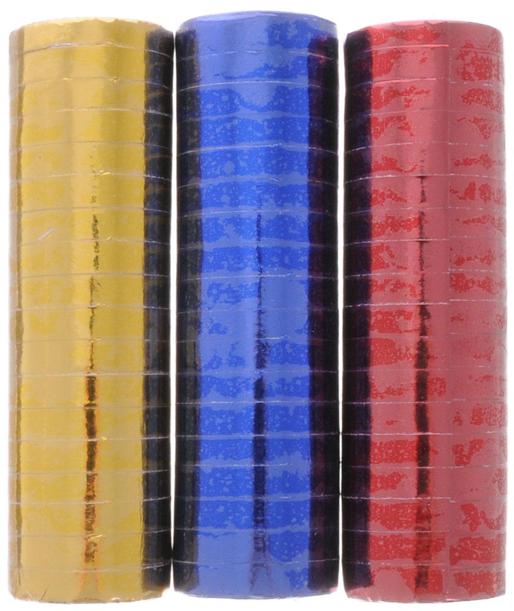 """Фольгированный серпантин """"Action"""" - разноцветные узкие бумажные ленты, свернутые в рулончики. Их можно бросать в публику во время праздников, балов и маскарадов, либо развешивать в местах проведения празднеств. Серпантин уместен на торжестве любого формата."""