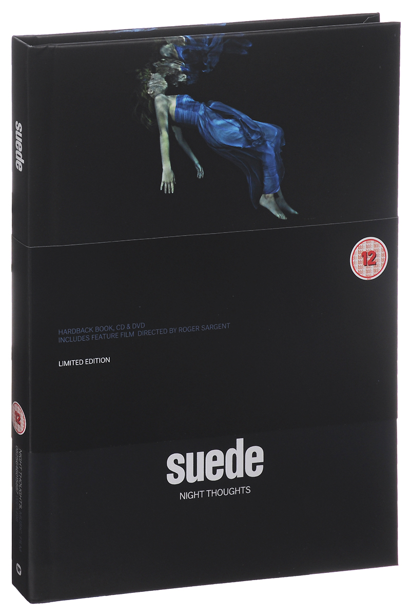 Suede Suede. Night Thoughts. Limited Edition (CD + DVD) carl perkins & friends blue suede shoes a rockabilly session 30th anniversary edition cd dvd