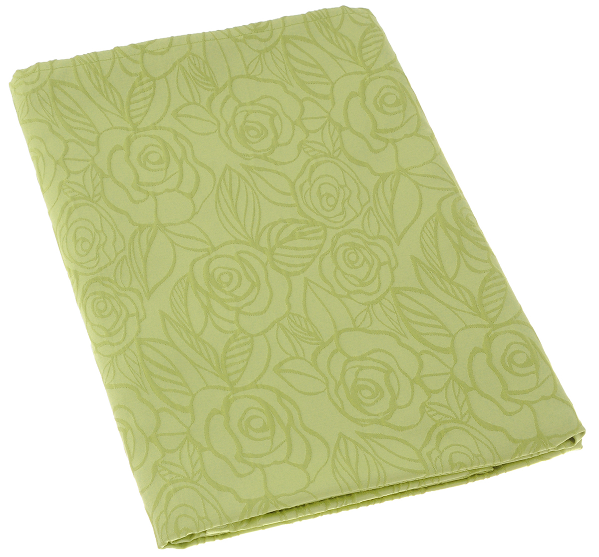Скатерть Schaefer, прямоугольная, цвет: светло-зеленый, 130 х 160 см. 07548-4271004900000360Изящная прямоугольная скатерть Schaefer, выполненная из плотного полиэстера с водоотталкивающей пропиткой, станет украшением кухонного стола. Изделие декорировано рельефным цветочным узором.За текстилем из полиэстера очень легко ухаживать: он не мнется, не садится и быстро сохнет, легко стирается, более долговечен, чем текстиль из натуральных волокон.Использование такой скатерти сделает застолье торжественным, поднимет настроение гостей и приятно удивит их вашим изысканным вкусом. Также вы можете использовать эту скатерть для повседневной трапезы, превратив каждый прием пищи в волшебный праздник и веселье. Это текстильное изделие станет изысканным украшением вашего дома!