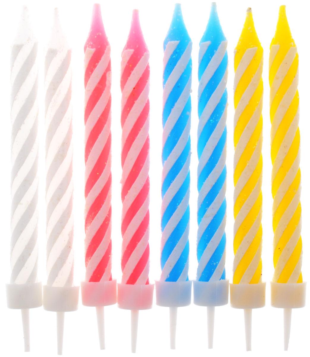 Action! Свечи для торта 8 шт