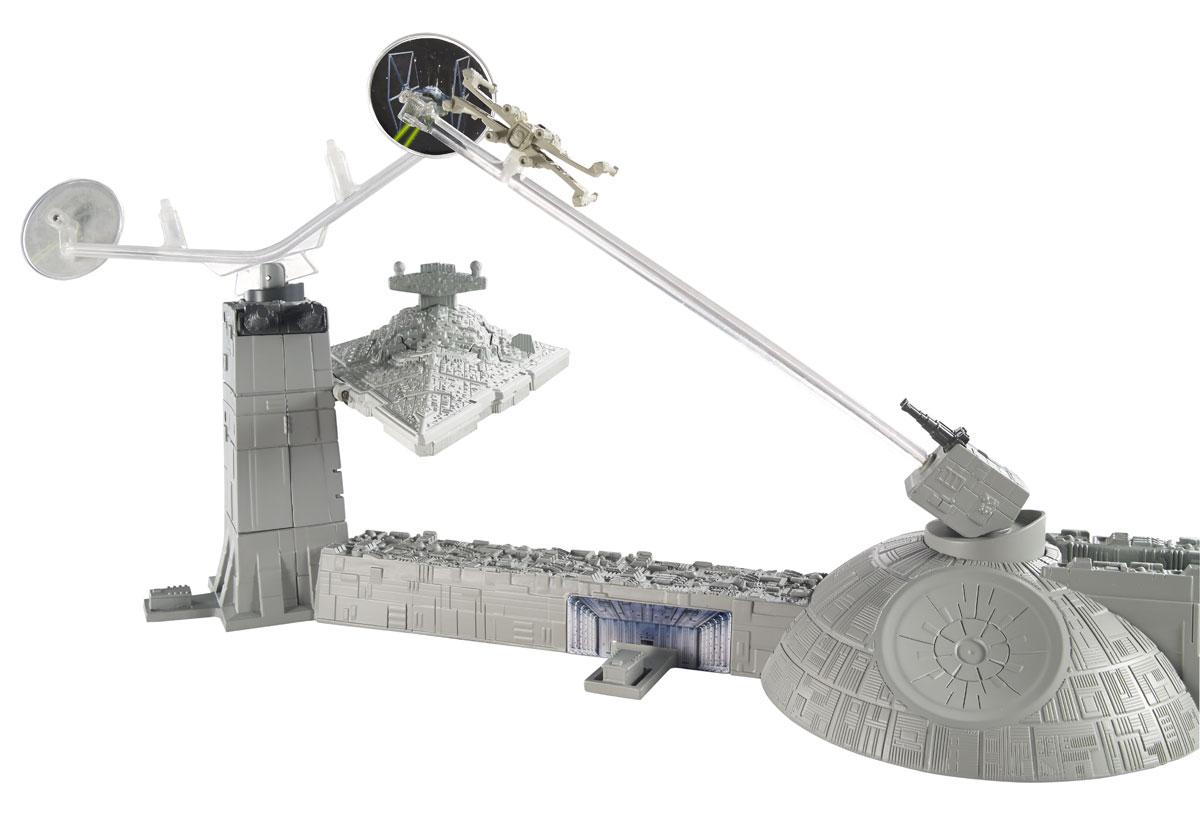 Hot Wheels Star Wars Игровой набор Битва с имперским крейсером hot wheels набор машинок star wars hot wheels