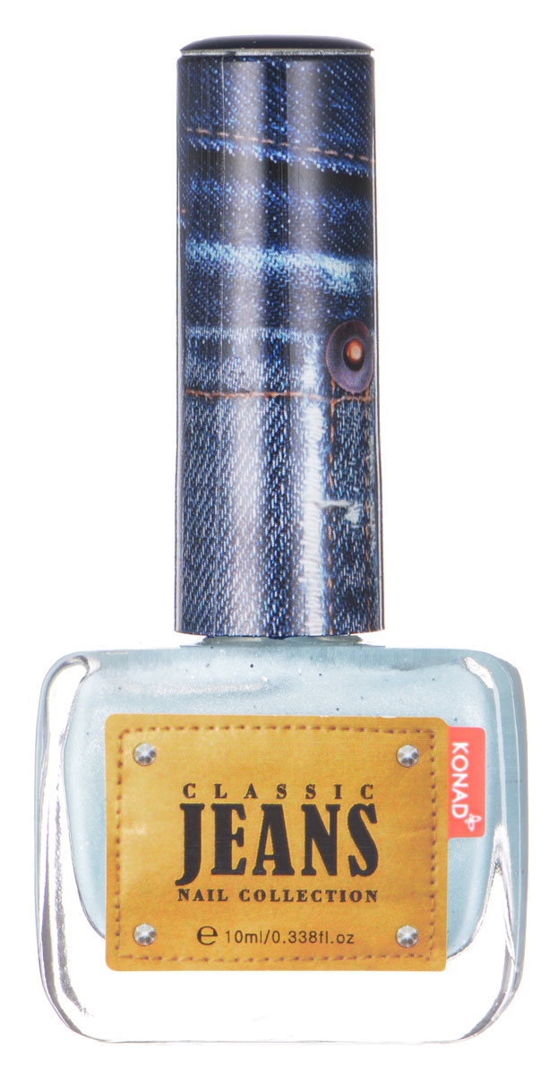KONAD Коллекция Classic Jeans текстурный лак Nail с5010777139655Текстурный лак модной джинсовой расцветки, тренд сезона