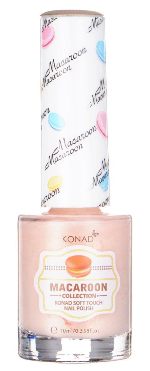 KONAD Macaroon матовые пастельные Soft Touch Nail 06 - Peach Macaroon 10 млSC-FM20104Матовый пастельный лак, нежнее нежного, как воздушное безе Макарун