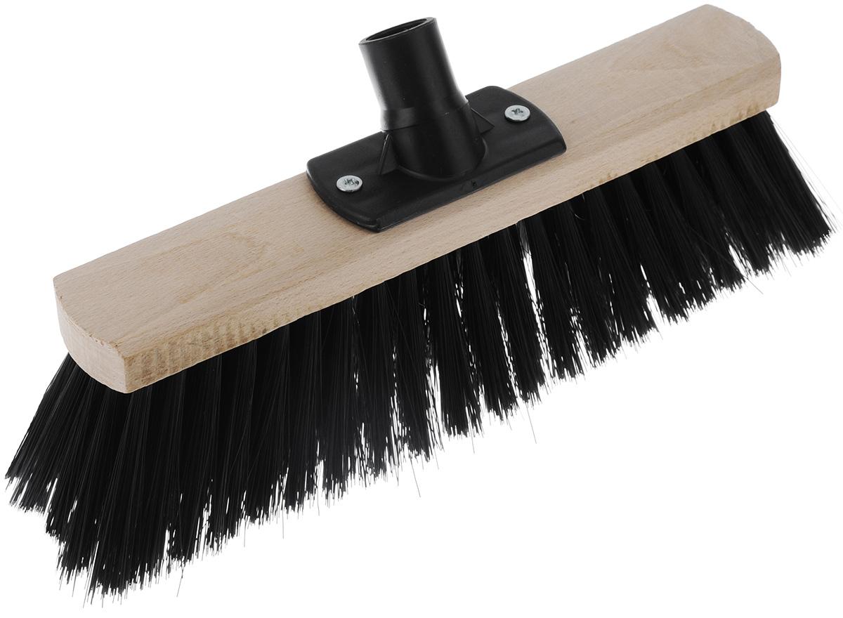 Щетка York для склада, без ручки, длина 30 см531-105Щетка York выполнена из дерева и предназначена для уборки мусора на улице или на складе. Универсальная резьба подходит ко всем видам ручек. Удлиненный жесткий ворс позволит быстро и качественно собрать мусор.Размер щетки: 30 см х 5,5 см.Длина ворса: 7,5 см.Диаметр отверстия под ручку: 2,2 см.