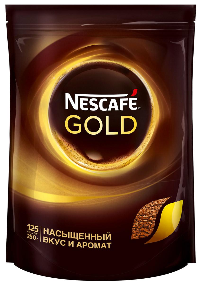 Nescafe Gold 100% кофе растворимый сублимированный, 250 г0120710Почувствуйте истинное удовольствие с кофе Nescafe Gold. Ведь Nescafe Gold создан из обжаренных кофейных зерен нескольких сортов, чтобы вы могли в полной мере ощутить его неповторимый аромат и насыщенный вкус. Nescafe Gold - кофе, который дарит удовольствие.Уважаемые клиенты! Обращаем ваше внимание на то, что упаковка может иметь несколько видов дизайна. Поставка осуществляется в зависимости от наличия на складе.
