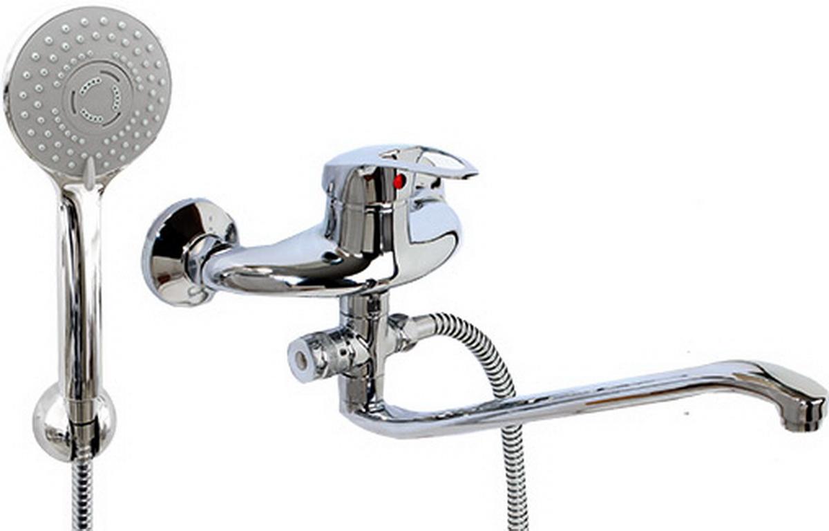 Argo смеситель для ванны и умывальника Lux Olio, d-40, картриджный, S образный излив 295 ммBL505Смеситель для ванны и умывальника 40-s35l/d olioкартридж d-40 мм short-size, крепеж эксцентрик усиленный 3/4 х 1/2 + прокладка-фильтр аэратор м24х1 наружная резьба only plast 10 - 13 л/мин. при 0,3 МПа покрытие никель / хром комплектация душевой шланг 150 см, оплетка - хромированная нержавеющая сталь, двойной замок, 1/2душевая лейка Lux трехпозиционная: душ, массаж, душ/массажкронштейн двухпозиционный материал основа латунь