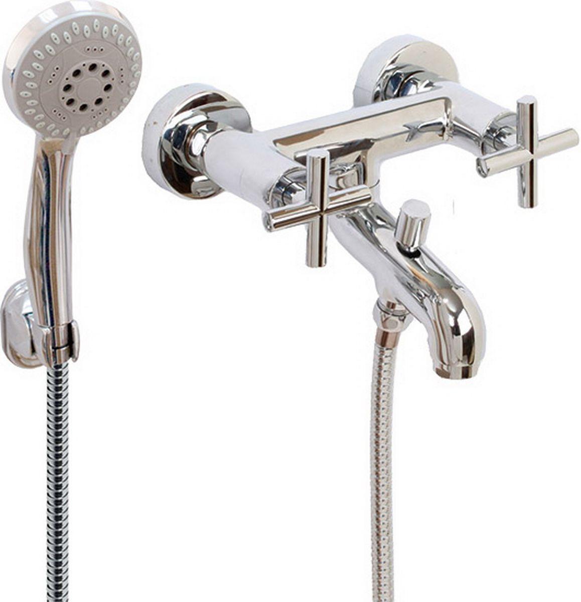 Argo смеситель для ванны York, 1/2 керамический68/5/1Смеситель для ванны 122-n york кран букса 1/2 900 керамика 7,7х20, крепеж эксцентрик усиленный 3/4 х 1/2 + прокладка-фильтр аэратор м28х1 наружная резьба neoperl perlator 16 - 20 л/мин. при 0,3 МПа покрытие никель / хром комплектация душевой шланг 150 см, оплетка - хромированная нержавеющая сталь, двойной замок, 1/2душевая лейка new пятипозиционная: душ, массаж, аэро, душ/массаж, душ/аэрокронштейн материал основа латунь