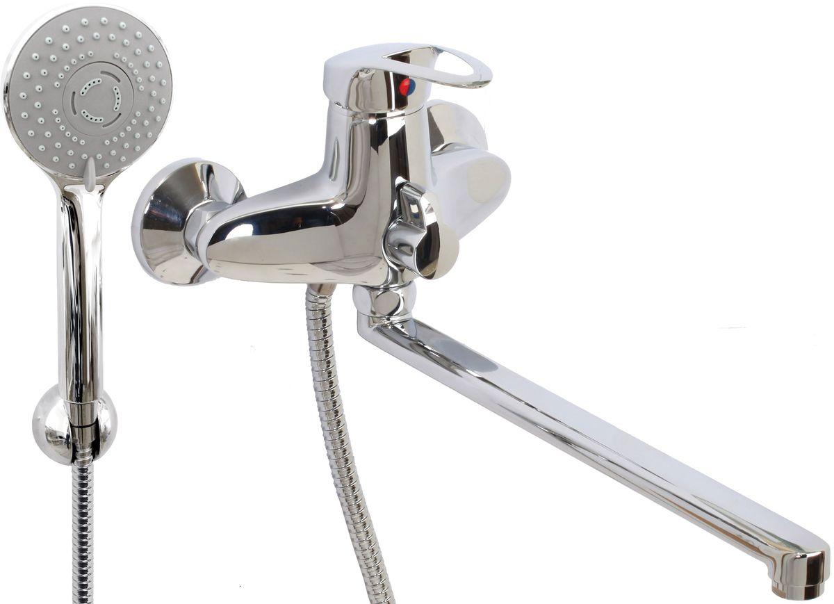 Argo смеситель для ванны и умывальника Olio, d-40, керамическийамбукса, L образный излив 325 ммW35-11Смеситель для ванны и умывальника 40-l35/k olio картридж d-40 мм short-size, крепеж эксцентрик 3/4 х 1/2 + прокладка-фильтр аэратор м24х1 наружная резьба only plast 10 - 13 л/мин. при 0,3 МПа покрытие никель / хром комплектация душевой шланг 150 см, оплетка - хромированная нержавеющая сталь, двойной замок, 1/2душевая лейка Lux трехпозиционная: душ, массаж, душ/массажкронштейн двухпозиционный материал основа латунь
