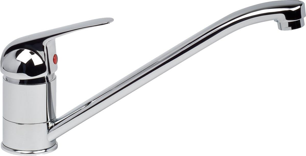 Смеситель для кухни Argo Echo, цвет: металлический, высота 15,5 см68/5/1Смеситель для кухни Argo Echo предназначен для смешивания холодной и горячей воды, устанавливается на мойку. Выполнен из высококачественного металла с покрытием из никеля и хрома.В комплекте гибкая подводка Argo (длина 50 см).Запорный механизм: картридж d-40 мм Short-size Аэратор: ячейковый М24х1 OnlyPlast 10-13 л/мин при 0,3 МПа Крепеж: двухшточный Double-rod