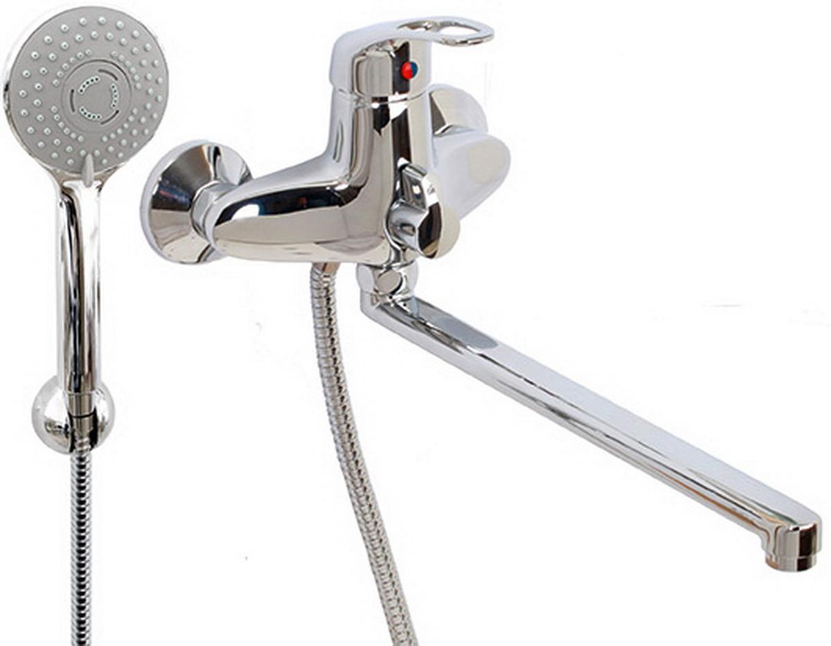 Argo смеситель для ванны и умывальника Lux Jamaica, d-40, керамическийамбукса, L образный излив 325 ммBL505Смеситель для ванны и умывальника 40-l35l/k jamaica картридж d-40 мм short-size, крепеж эксцентрик усиленный 3/4 х 1/2 + прокладка-фильтр аэратор м24х1 наружная резьба only plast 10 - 13 л/мин. при 0,3 МПа покрытие никель / хром комплектация душевой шланг 150 см, оплетка - хромированная нержавеющая сталь, двойной замок, 1/2душевая лейка Lux трехпозиционная: душ, массаж, душ/массажкронштейн двухпозиционный материал основа латунь