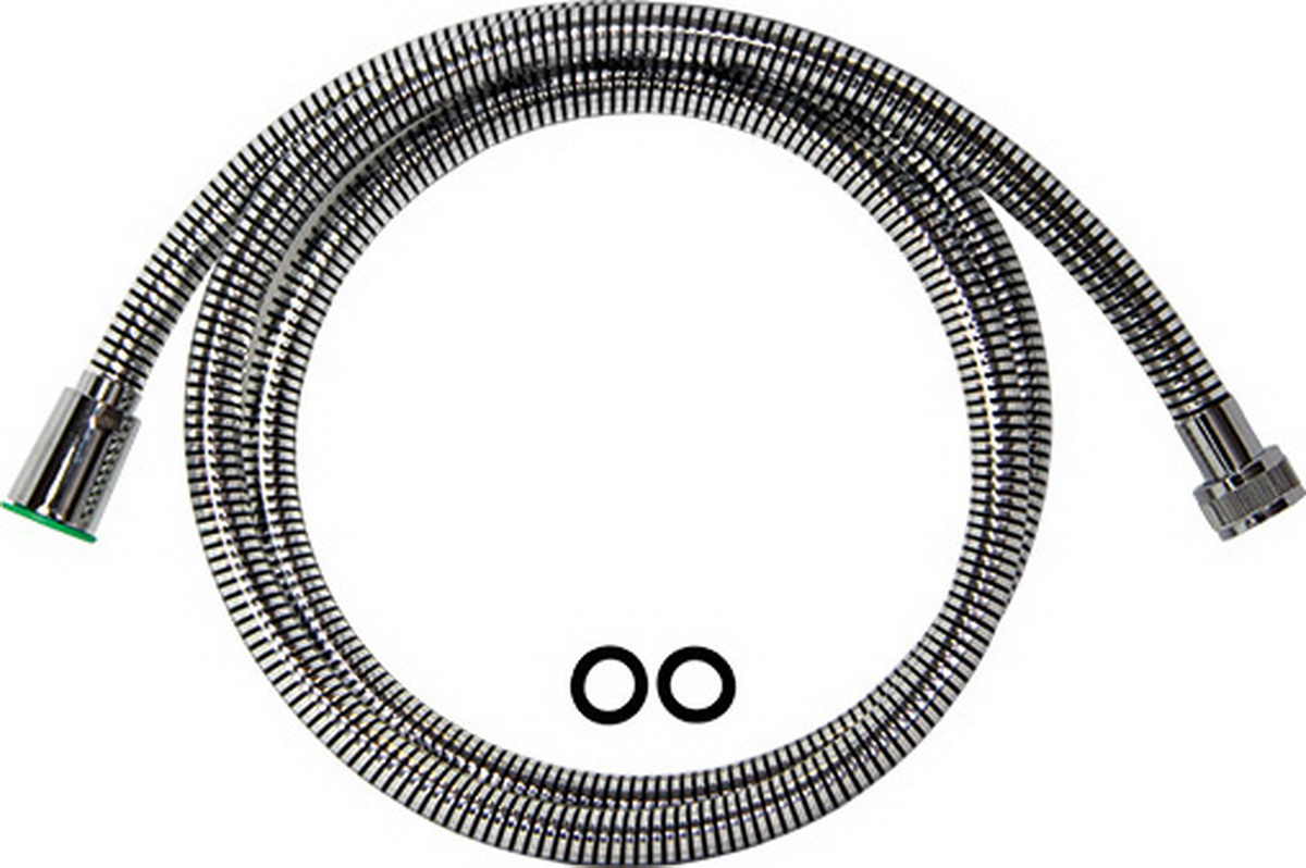 Argo шланг для душа, с конусом свободного вращения, 1/2, PVC Isoflex Black, 150 смBL505Шланг для душа, с конусом свободного вращения Argo 1/2, pvc isoflex black, 150 см