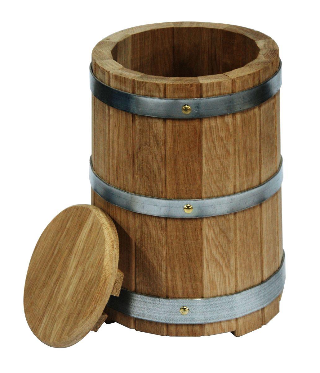 Кадка для бани Proffi Home, с гнетом, 10 лC0042416Кадка с гнетом выполнена из дуба. Она прекрасно подойдет для замачивания веника или других банных процедур, а также для хранения солений. Кадка является одной из тех приятных мелочей, без которых не обойтись при принятии банных процедур.