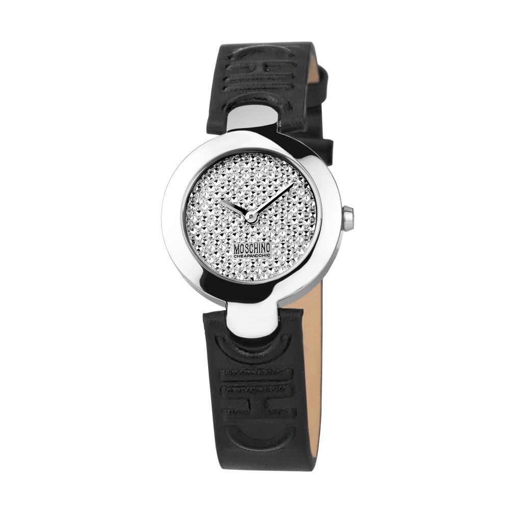 Часы женские наручные Moschino Full Of Chic, цвет: черный. MW0354BM8434-58AEЧасы наручные Moschino MW0354Водостойкость: 50м (5 АТМ)